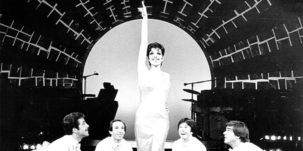 Liza Minnelli in The Act. Liza and other renowned performers often participated in AMDA benefits.