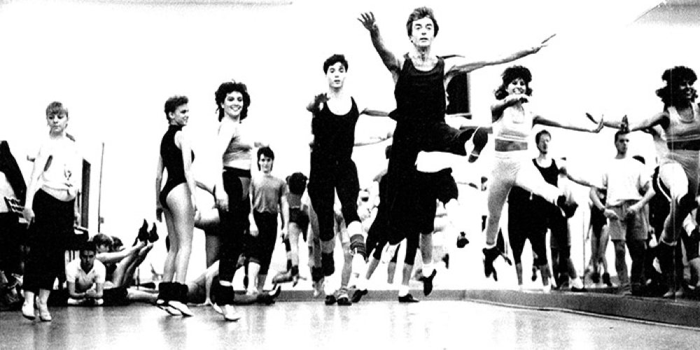 AMDA dance class in the Ansonia. (1995)