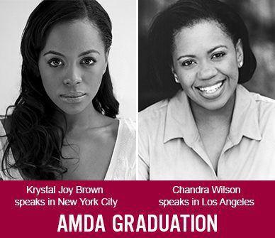 Krystal Joy Brown and Chandra Wilson