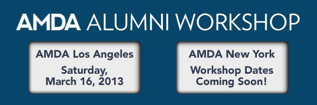 AMDA Alumni Workshop