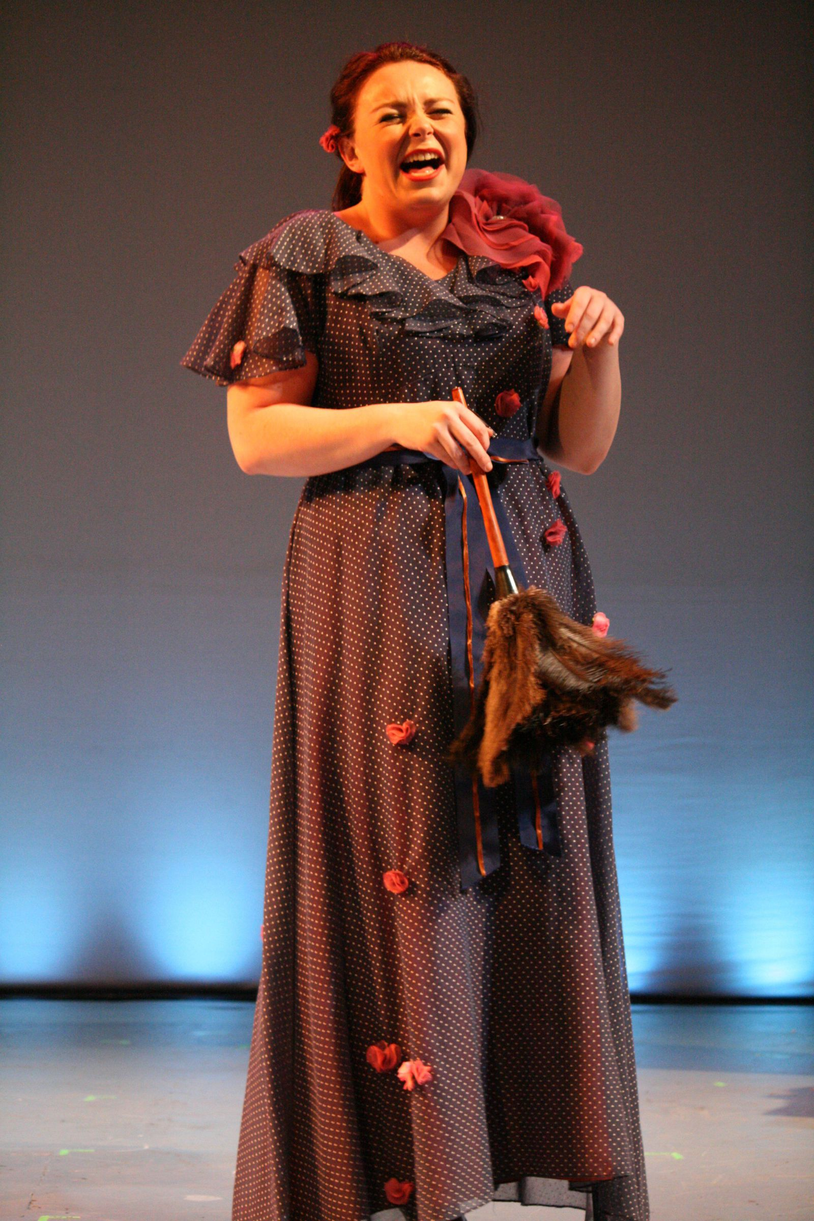 "Leigh Sauvageau in ""For Whom The Southern Belle Tolls"""