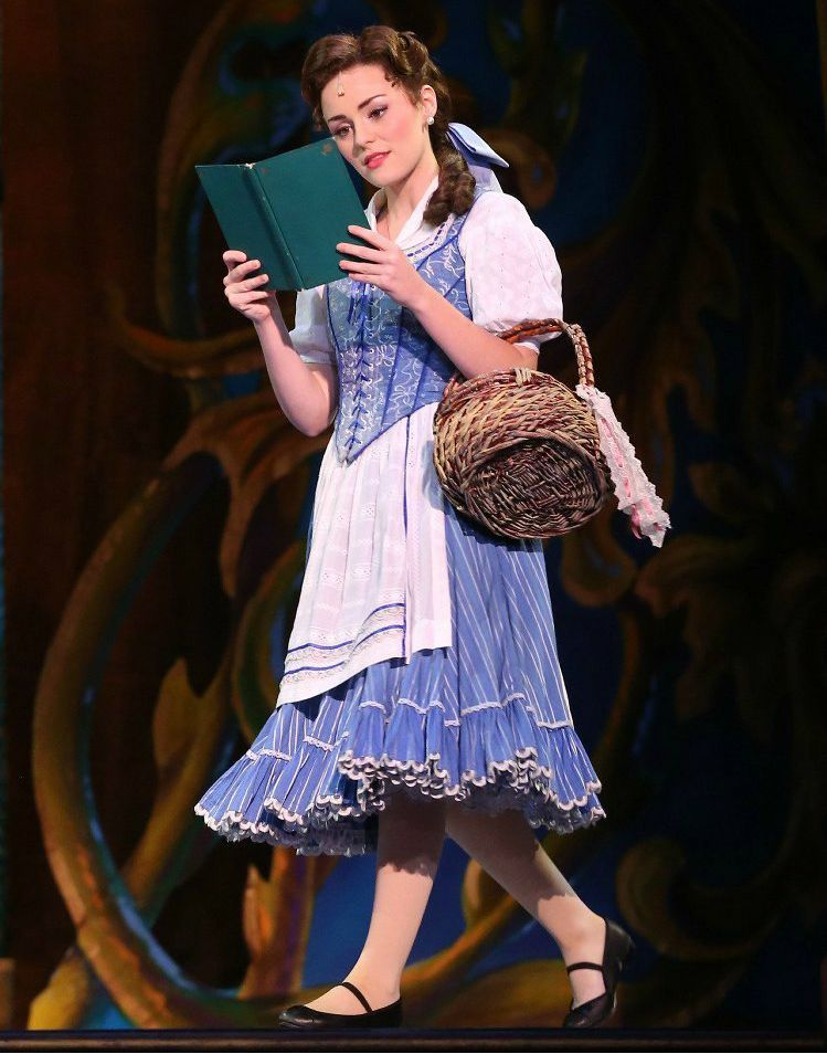 Briana Rapa Stars as Belle in Disney's Beauty and Beast