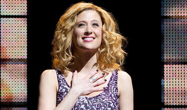 "Caissie Levy in ""Ghost: The Musical"""