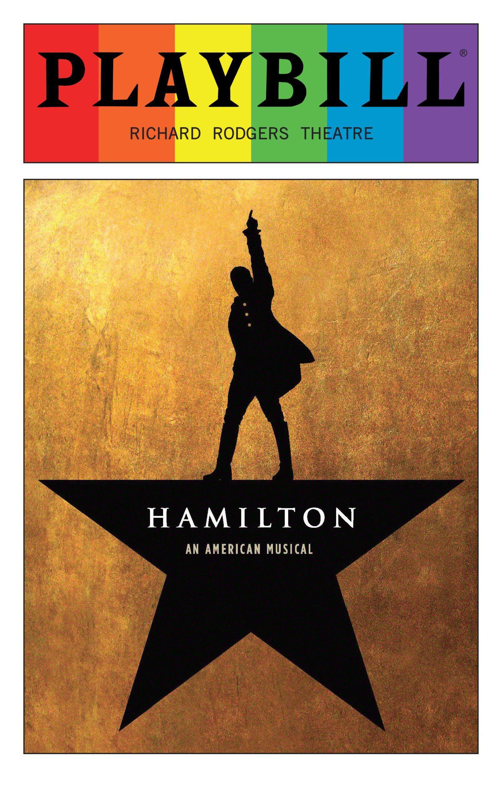Playbill - Hamilton