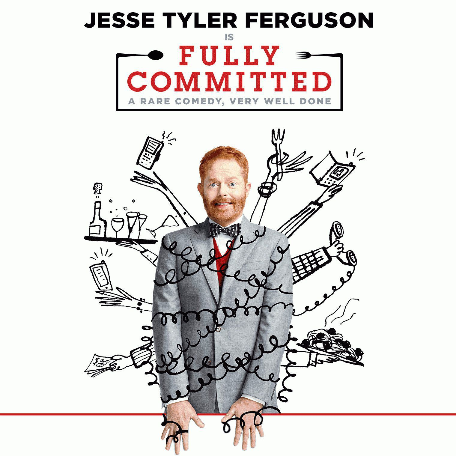 Jesse Tyler Ferguson in Fully Committed