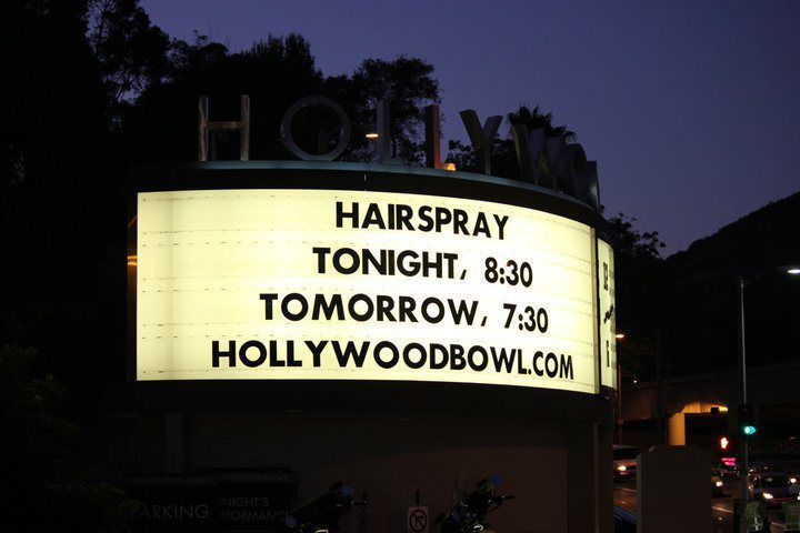 The Hollywood Bowl Marquis