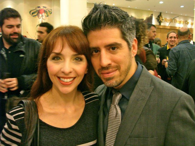 Billy Johnstone with Bianca Tadini
