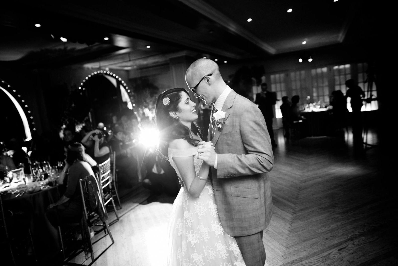 first dance, photo credit douglas benedict photography