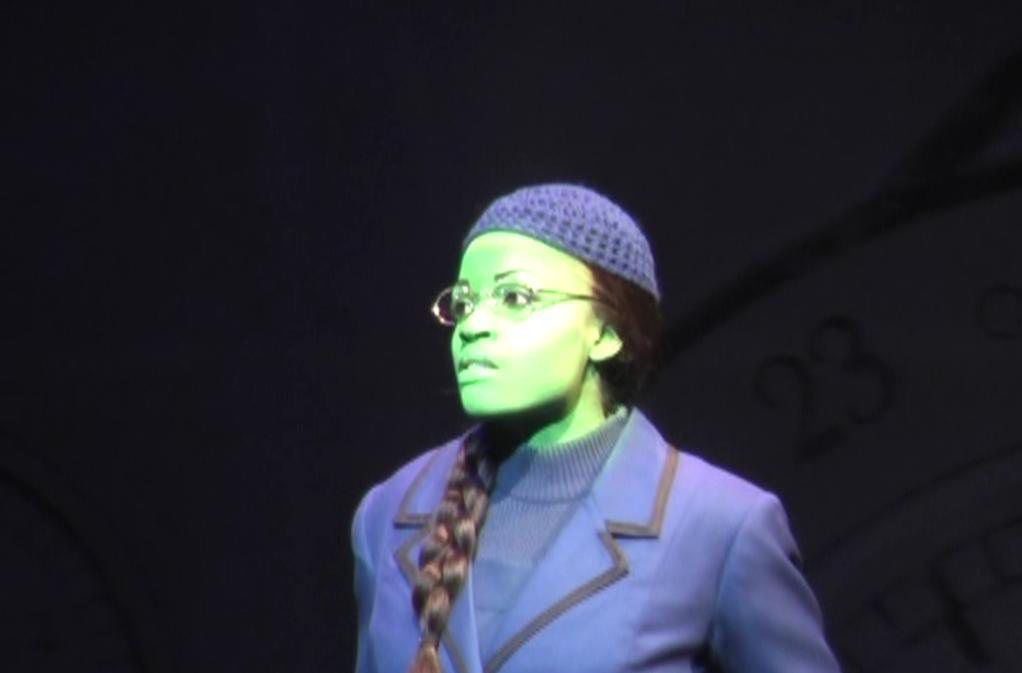 Brandi Chavonne Massey as Elphaba