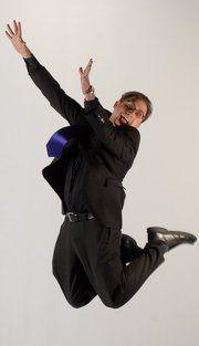 Michael Ian Cedar Jumping