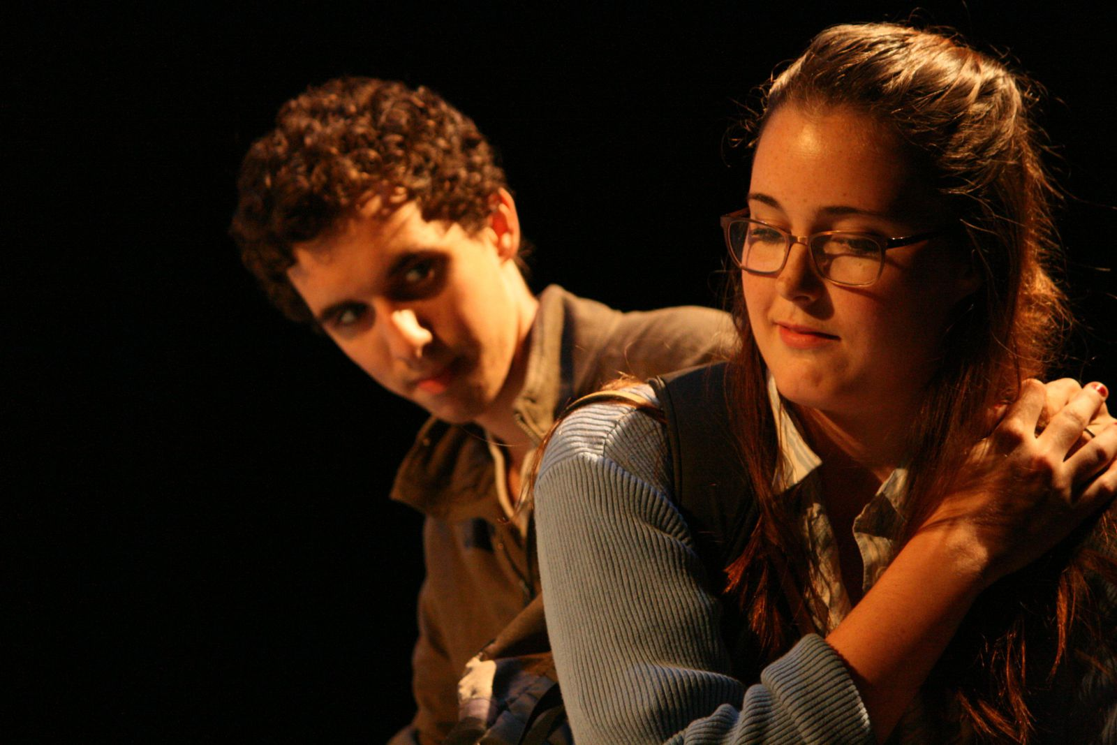 "Ethan Santo and Kaitlyn Connors in ""Becky Shaw"""