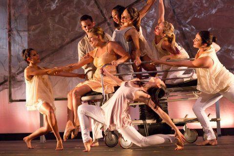 """Orange Sky"" Choreography by faculty, Chryssie Whitehead"