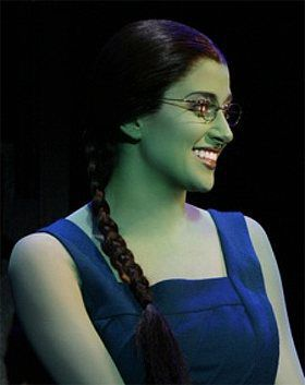 Caissie Levy as Elphaba