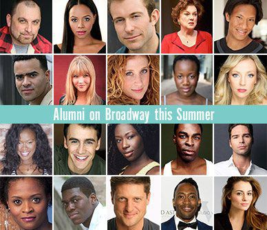 Alumni on Broadway
