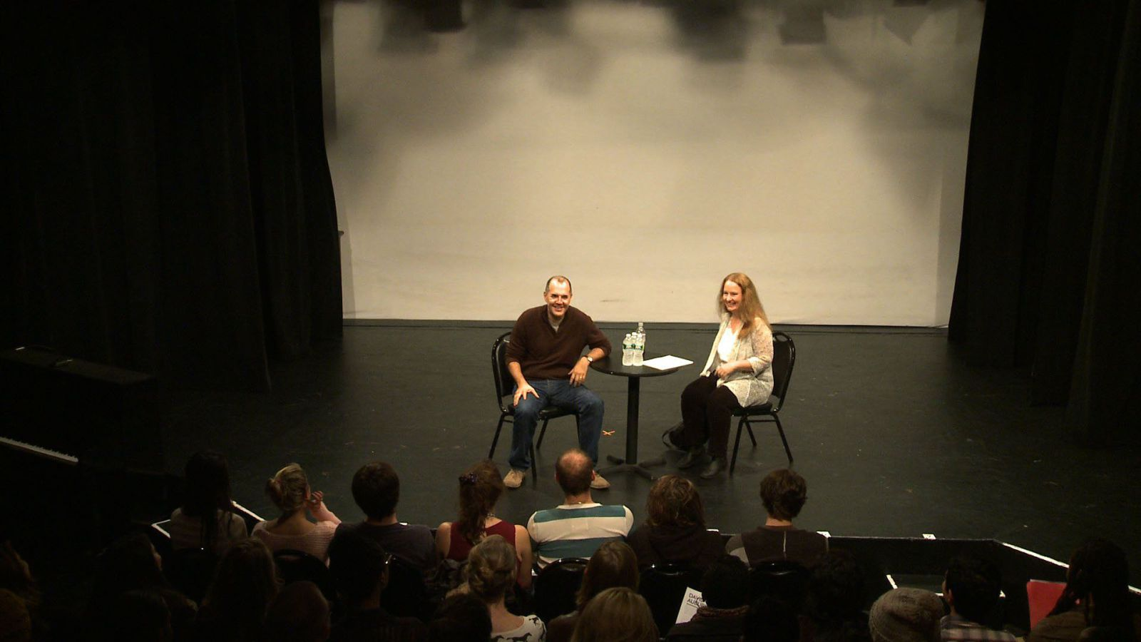 David Auburn Q&A with new AMDA Acting students