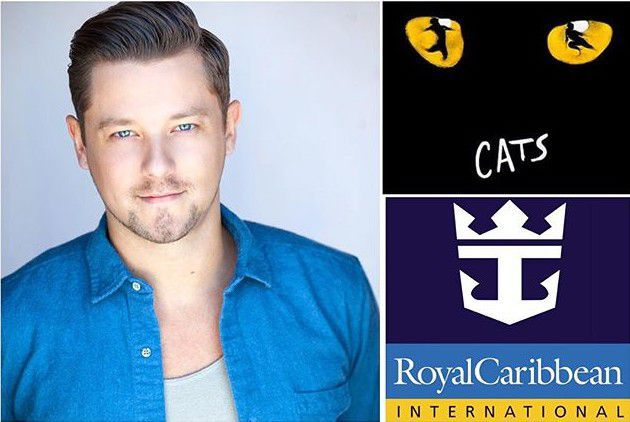 John Dempsey Works on a Cruise Ship in Cats on Royal Caribbean