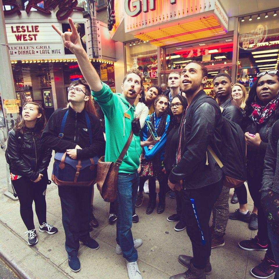 Broadway Up Close Tour